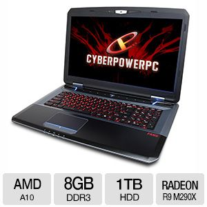 "CyberPowerPC 17.3"" Gaming Notebook - AFX7-600"