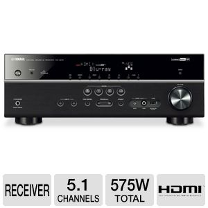 Yamaha RX-V473BL 5.1 Channel Digital A/V Receiver