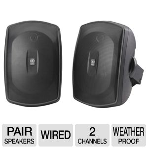 Yamaha NS-AW190BL All-Weather Speakers