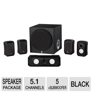 Yamaha NS-SP1800 5.1 Channel Speaker Package