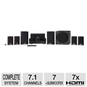 Yamaha YHT-895BL 7.1 Channel Home Theater System
