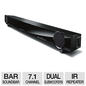 Yamaha YAS-101BL Front Surround Soundbar Speaker