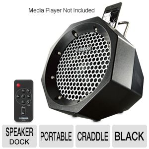Yamaha Portable Black Speaker Dock