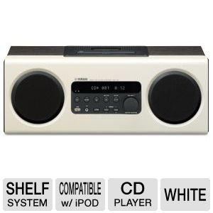 Yamaha White Desktop Audio System