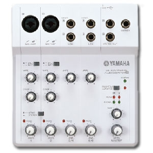 Yamaha AUDIOGRAM6 Computer Recording Package
