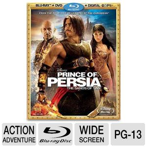 Disney: Prince of Persia The Sands of Time Bluray