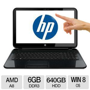 "HP Pavilion 14.0"" TouchSmart Quad Core Sleekbook -"