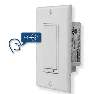 Linear Z-Wave 3-Way Wall Dimmer Switch - WT00Z1