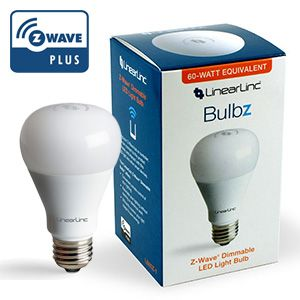 bulbz z wave dimmable led light bulb wireless dimmable soft light. Black Bedroom Furniture Sets. Home Design Ideas