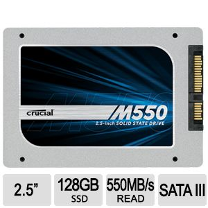 Crucial® M550 SSD