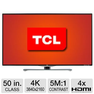 "TCL 50"" Class 4K ULTRA HD LED TV"