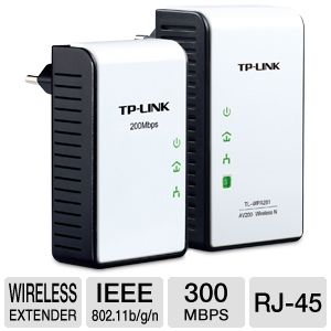 TP-LINK TL-WPA281KIT 300Mbps AV200 Wireless N
