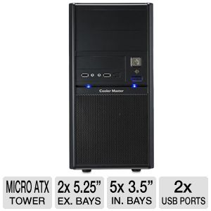 Cooler Master Elite 342 - mini tower - micro AT