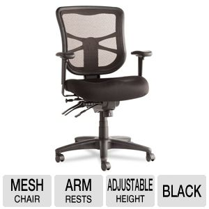 Alera EL42ME10B Elusion Series Mesh Chair