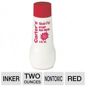 INK,STAMP PAD,2 OZ,RD
