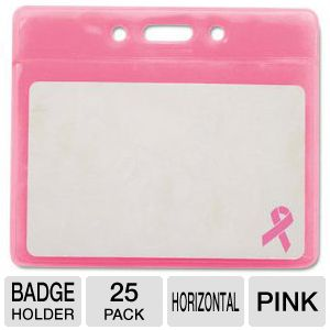 BADGE,HLDR,BRT CNCR,25,PK