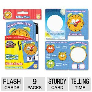 CARD,FLASH,TELLNG TIME,YL