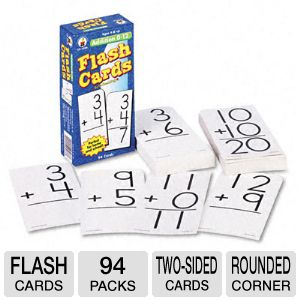 CARD,FLASH,ADDITION 0-12