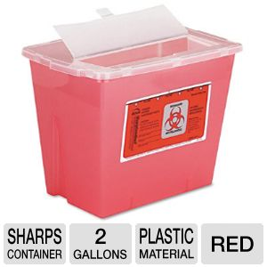 CONTAINER,SHARPS,2GAL,RD