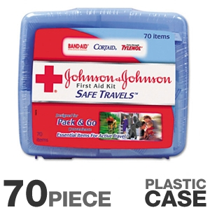 Johnson and Johnson 8274 Travel First Aid Kit