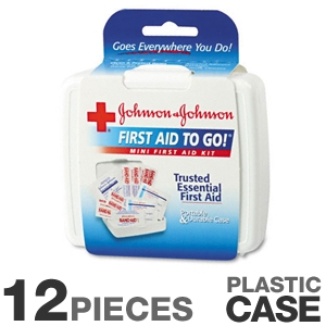 Johnson and Johnson 8295 Mini First Aid Kit