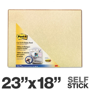 3M 558BEI Post It Self Stick Bulletin Board