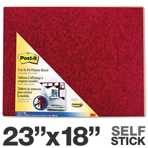 3M 558-BY Post It Self Stick Bulletin Board