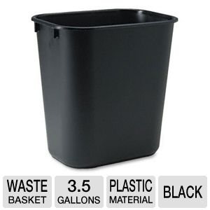 Rubbermaid 29551 Rectangular Wastebasket