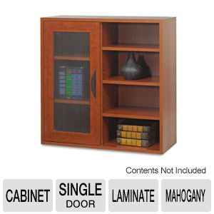 CABINET,SNGLE DR,STOR,MAH