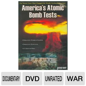 AMERICA'S ATOMIC BOMB TESTS:COLLECTIO - Format: [D