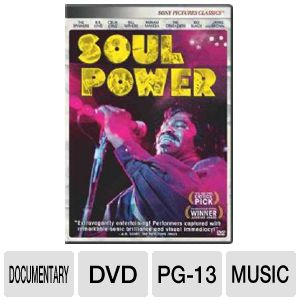 SOUL POWER - DVD Movie
