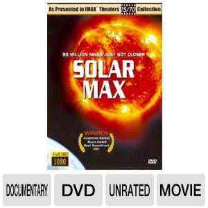 IMAX SOLARMAX - DVD Movie