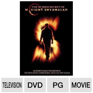 BURIED SECRET OF M NIGHT SHYAMALAN - Format: [DVD 