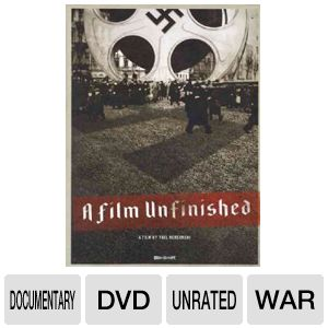 FILM UNFINISHED - DVD Movie