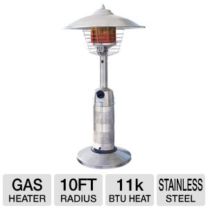Blue Rhino Stainless Steel Outdoor LP Gas Heater