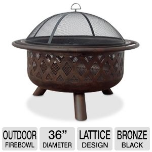 "Blue Rhino 36"" Outdoor Firebowl"