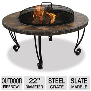 Blue Rhino 22&quot; Outdoor Firebowl
