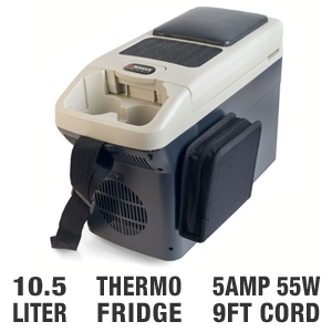 Wagan 2296 10.5 Liter Personal Thermo-Fridge