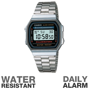 Casio A168W-1 Classic Watch
