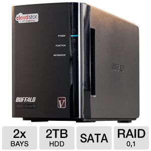 Buffalo CloudStor Pro NAS server