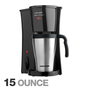 Black & Decker DCM18S Brew N Go Coffeemaker