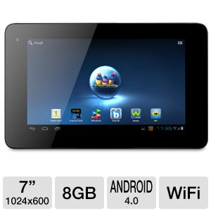 "ViewSonic ViewPad E72 7"" 8GB Android 4.0 Tablet"