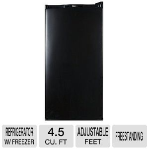 Haier HNSE045BB - refrigerator with freezer