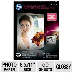 HP Premium Plus Photo Paper - glossy photo paper