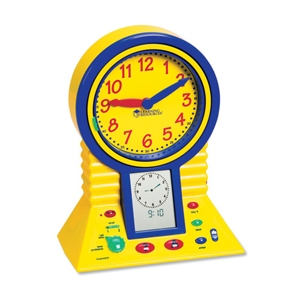 Learning Resources LER2998 Talking Clever Clock