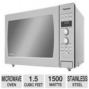 Panasonic Genius Prestige NN-CD989S - microwave