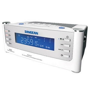 Sangean RCR-22 AM/FM/Aux Atomic Clock Radio