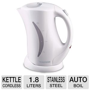 Toastess TJK-28 Cordless Electric Jug Kettle