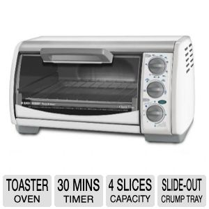 Black &amp; Decker TRO490W Toaster Oven