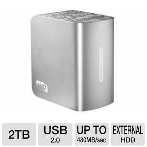 WD My Book Studio II 2TB External HD